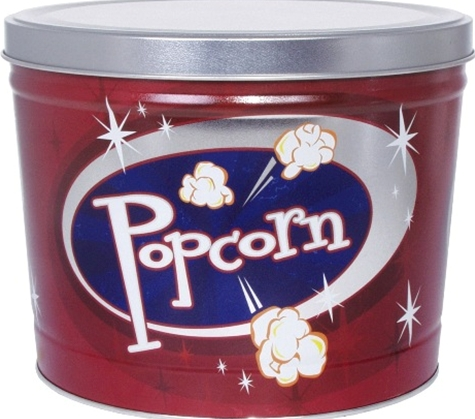 2 Gallon Retro Popcorn